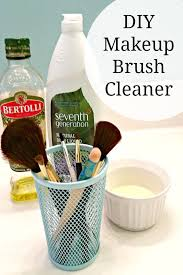 use this diy makeup brush cleaner to save money and stay beautiful only costs pennies