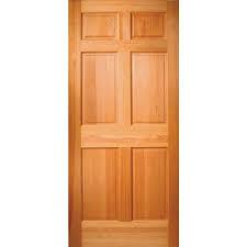 Shop ReliaBilt Reversible Hem Fir Entry Door (Common: 36-in x 80-in ...