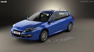 360 view of Renault Laguna grandtour 2010 3D model - Hum3D store