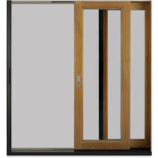 it spans up to 12 wide uni directional as a single screen 24 wide bi parting with screen heights up to 10 the scenic door ultimate sliding screen