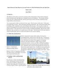 Traffic Sign Foundation Design Structural Design Of Utility Distribution Poles And Light Poles