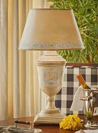vintage style yellow urn toile table lamp french country country style table lamps australia