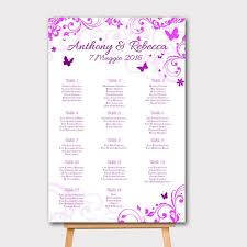 Seating Chart Wedding Sign Wedding Seating Chart Wedding Seating Chart Template