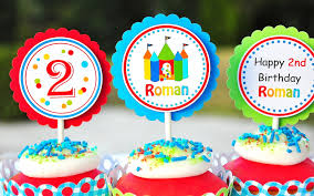 bounce house cupcake toppers bounce house birthday set of bounce house birthday set of 12 128270zoom