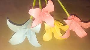 Paper Flower Making Video Making Paper Flowers Origami 3d Gifts