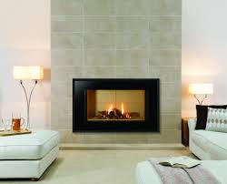 decoration cool modern stylish living room decoration with minimalist gas fireplace black frames and slate