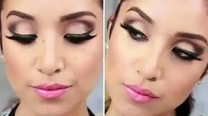 glam smokey brown eyes full face makeup tutorial video dailymotion mahrose beauty parlour bridal
