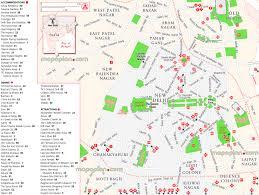 Hotel Delhi City Centre Delhi Map Map Of New Delhi Attractions Hotel Accommodation