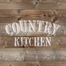 country kitchen stencil reusable diy craft stencils of a country kitchen sign rustic stencil for wood signs