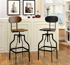 bar stools metal and wood. Bar Stools Metal With Backs White Wooden Where To Buy And Wood