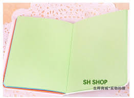 Cute Cartoon Colorful Kids Notebook Fashion Student Color Page