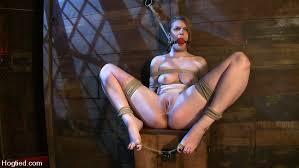 Bondage in severe woman