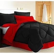 ideas red black bedroom