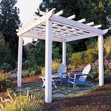 Small Picture Trellis Arbor Ideas Sunset