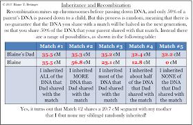 Inheritance Of Dna Segments The Genetic Genealogist
