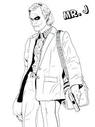 Batman Joker Coloring Pages Coloring Page Super Heroes Coloring