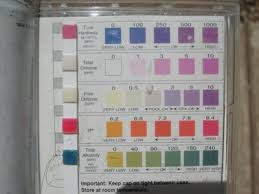 Hth Pool Test Strip Color Chart Best Picture Of Chart