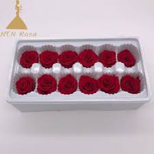 florist diy gift rose box with top quality 3 4cm preserved flower buds