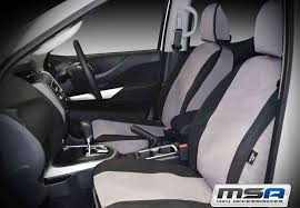 seat covers front bucket 3 4 bench for toyota landcruiser 78 series msa 78903