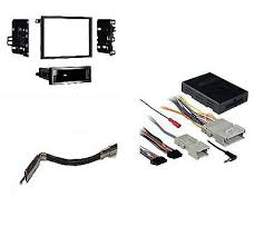 stereo radio double din dash kit onstar wiring harness stereo radio single din dash kit onstar wiring harness interface pkg