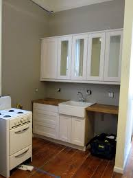 Kitchen. Wall Color Kitchen Interior Ideas Combination: wall-mount ...