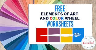 We normally don't celebrate st. Free Elements Of Art And Color Wheel Worksheets Homeschool Giveaways