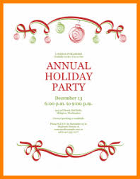 Free Christmas Party Invitation Templates 10 Free Holiday Party Invitation Templates Word Stretching And