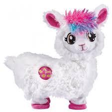 Интерактивная мягкая <b>игрушка ZURU Pets</b> Alive Танцующая Лама