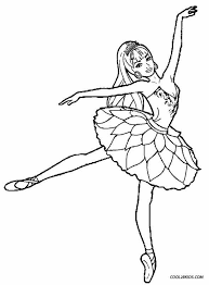Printable Ballet Coloring Pages For Kids Cool2bkids Coloring