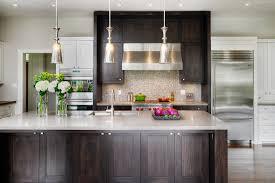 dark kitchen cabinets kitchen transitional with kitchen island stainless steel