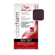 wella color charm liquid haircolor 367 black cherry 1 4 oz
