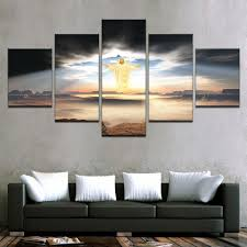 5 panel jesus is coming religion wall art panel print picture framed unframed ash wall on religious wall art canvas with 5 panel jesus is coming religion wall art panel print picture framed