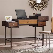 southern enterprises kedzie multilevel computer desk in espresso