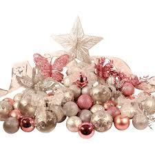 Silver Pink Classic Decoration Set