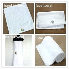 standard towel sizes logo printed whole customized cotton bath soft and thin size o91