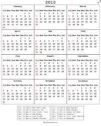 2010 Calendar January Category Calendar 44 Stln Me