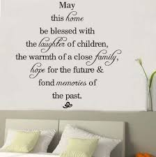 may this home be blessed vinyl wall decals quotes sayings words art decor lettering vinyl wall art wall stickers love wall stickers murals from flylife  on adhesive wall art sayings with may this home be blessed vinyl wall decals quotes sayings words art