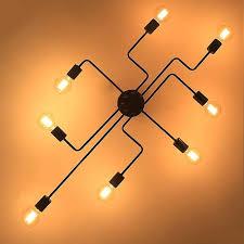 industrial flush mount ceiling lights. Industrial Flush Mount Ceiling Lights 2 Light Farmhouse Fresnel Glass .