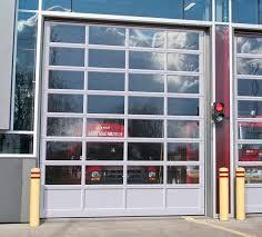 Commercial glass garage doors Retractable Glass G4400 Doors 14 16 Anodized Extrusion Garage Doors In Fort Wayne In Commercial Industrial Agricultural Garage Doors Garaga