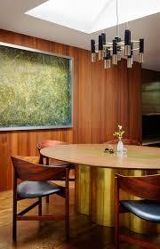 portland mid century modern furniture. Incredibly Glamorous Midcentury Modern Dining Room Design With Warm Wood Paneled Walls Portland Mid Century Furniture