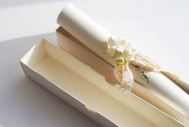 Make Your Own Vintage Style Scroll Wedding Invitations The English