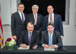 and california just signed a major stem cell research agreement consul general david siegel or of beverly hills julian a gold iac national chairman adam milstein chair of the cirm governing board dr jonathan