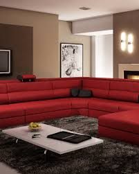 italian leather furniture stores. Stunning Red Leather Sectional From LA Furniture To Wow Your Guests! Italian Stores W