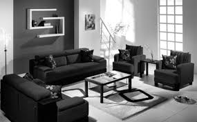 White Furniture Decorating Living Room Fancy Black And Grey Living Room Ideas In Home Decor Arrangement