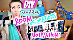 diy tumblr room decorations motivation for 2015 youtube