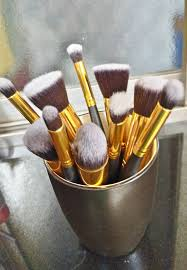bs mall premium synthetic kabuki makeup brush set review