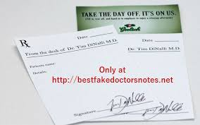 What Is A Doctors Note Randy And Moss Template Site