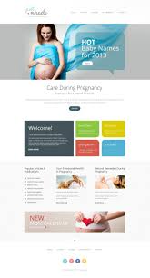 Pregnancy Template Pregnancy Responsive Website Template