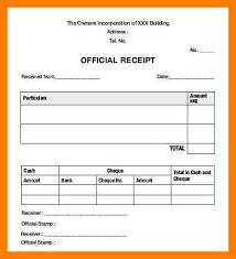 receipt blank 8 blank receipt form xavierax