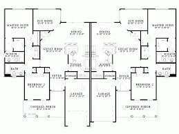 Eplans Country House Plan  Duplex Plan  2796 Square Feet And 4 4 Bedroom Duplex Floor Plans